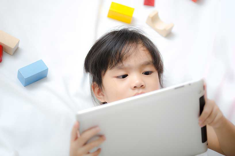 amblyopia treatment with ipad